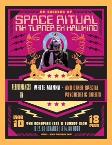 nik turner ex hawkwind a night of space ritual medium