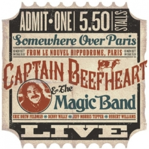 Captain Beefheart Paris ticket