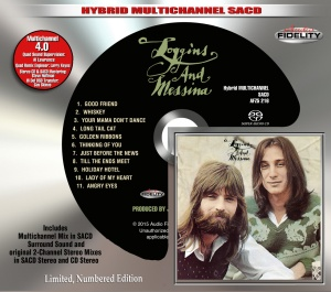 Loggins & Messina SlipcaseMock