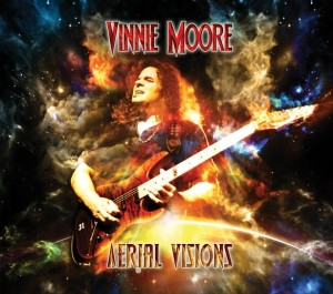 Vinnie Moore - Aerial Visions Cover med res