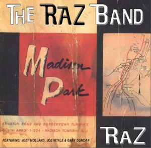 RAZ Madison Park CD Cover