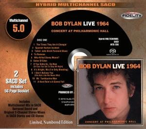 Dylan Live 1964 Slipcase Mockup