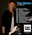 Paul Nelson tour 2018 poster medres