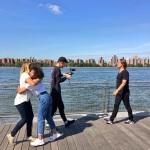 Jann Klose Love High Music Video Shoot on set medres